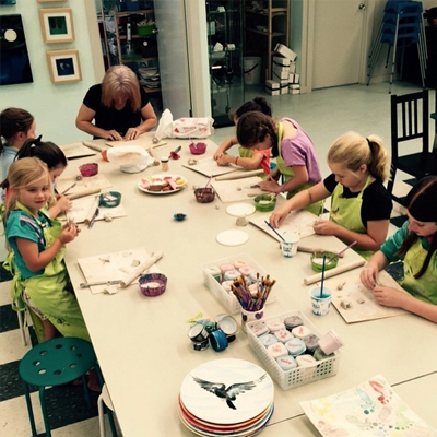 Fun Birthday Parties at Paint A Pot
