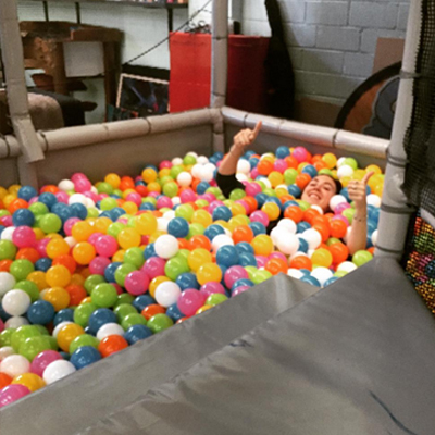 Paint a Pot - Ball Pit Fun