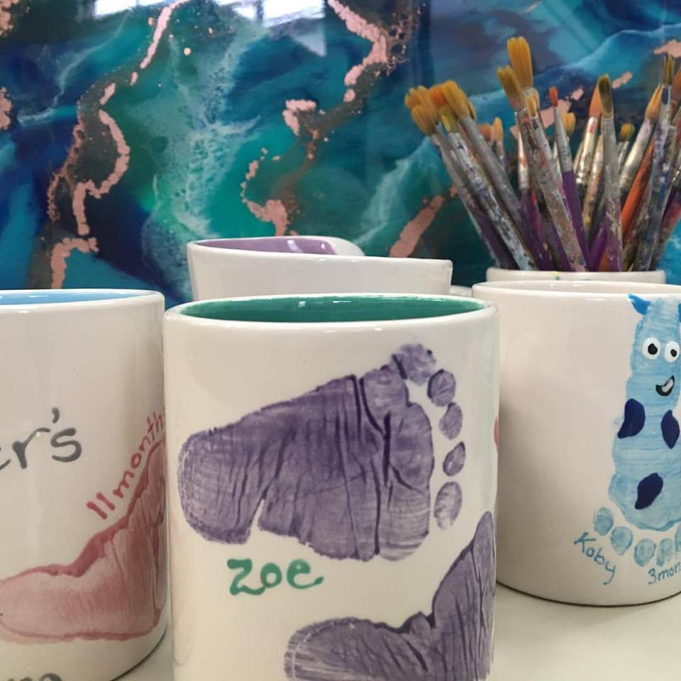 Paint a Pot - Mothers Day Gift Ideas