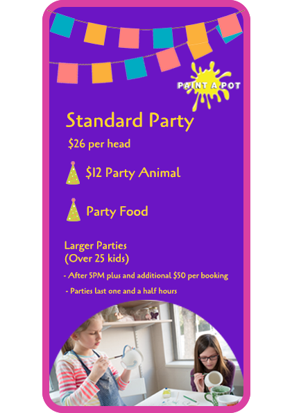 Standard Party Packages